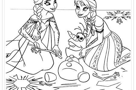 Dibujos De Frozen Para Colorear +150 Imágenes Para Pintar Y Dar Vida!