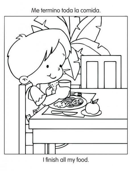 Resultado De Imagen Para Niños Comiendo Correctamente Para