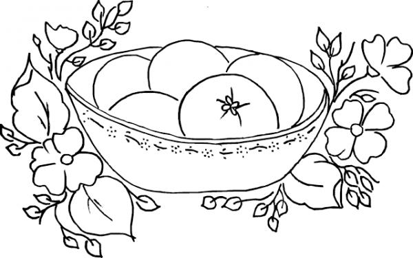 Frutas Y Verduras Para Colorear Y Coloreadas
