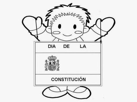 Maestra De Primaria  La Constitución Española Para Niños