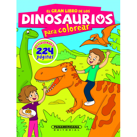 El Gran Libro De Los Dinosaurios Para Colorear