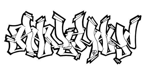 Dibujos De Graffiti Para Imprimir Y Colorear