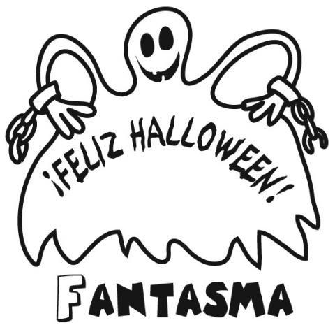 Dibujos De Fantasmas De Halloween Para Colorear