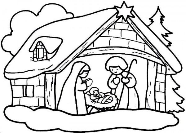 Imágenes Para Colorear De Dibujos De Navidad