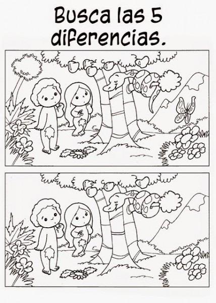 Fichas De La Creación Para Imprimir