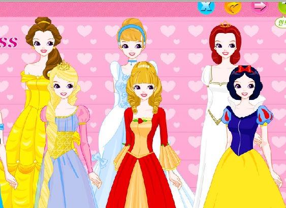 Juegos De Vestir Princesas Disney