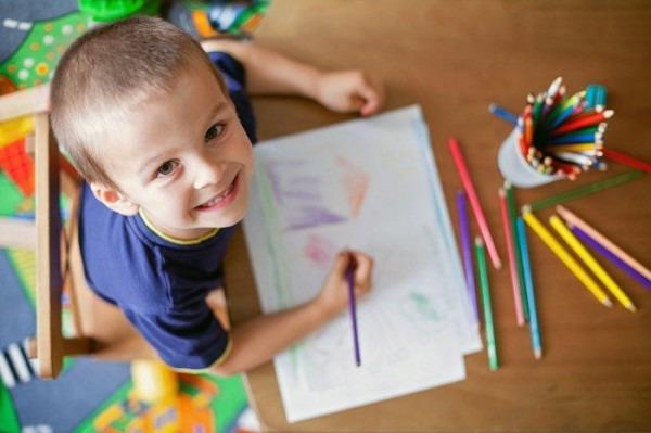Los Beneficios De Colorear Para Los Niños
