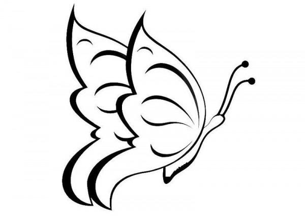 ▷ Dibujos De Mariposas Para Colorear  Dibujos Y Plantillas Para