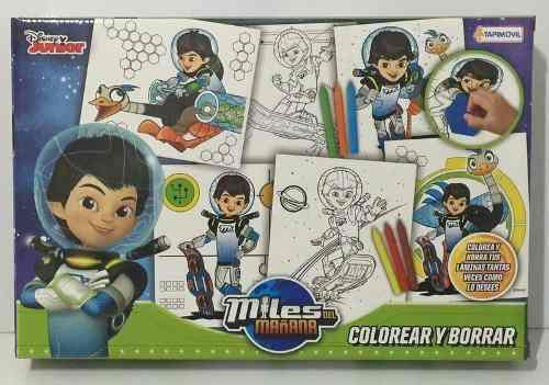 Miles Del Mañana Disney Colorear Y Borrar Y Volver A Pintar