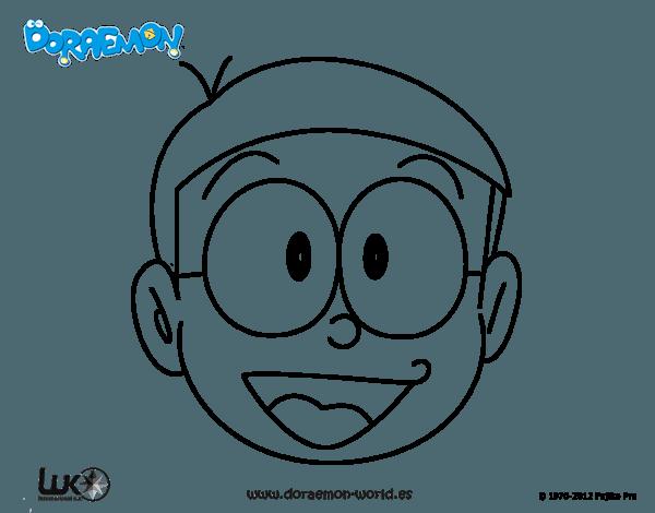 Dibujo De Nobita Para Colorear