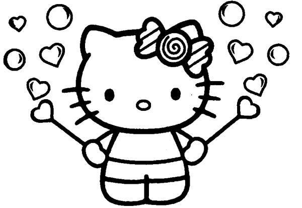 Plantillas De Hello Kitty Para Imprimir Gratis