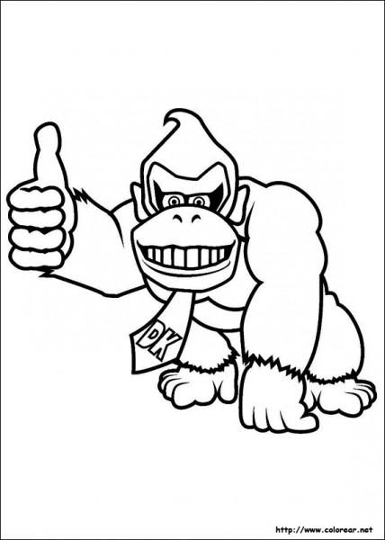 Dibujos De Super Mario Bros  Para Colorear En Colorear Net
