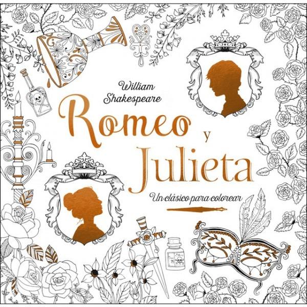 Clásicos Para Colorear  Romeo Y Julieta · Libros · El Corte Inglés