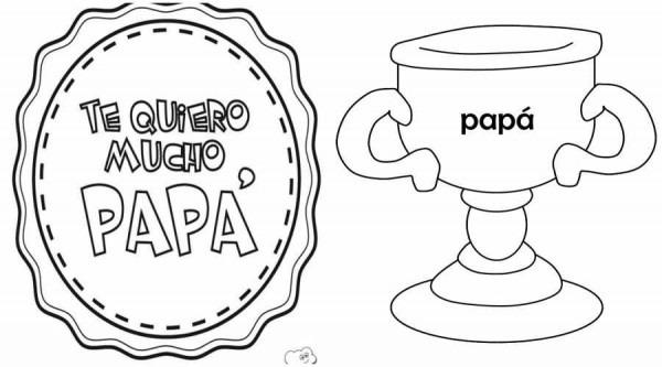 Dibujos Día Del Padre Para Colorear E Imprimir
