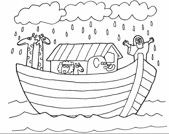 Dibujos De Pintar Para Imprimir Del Arca De Noe (3)