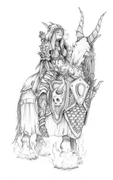 Resultado De Imagen De World Of Warcraft Drawings