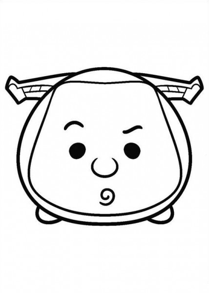 27 Coloring Pages Of Tsum Tsum On Kids