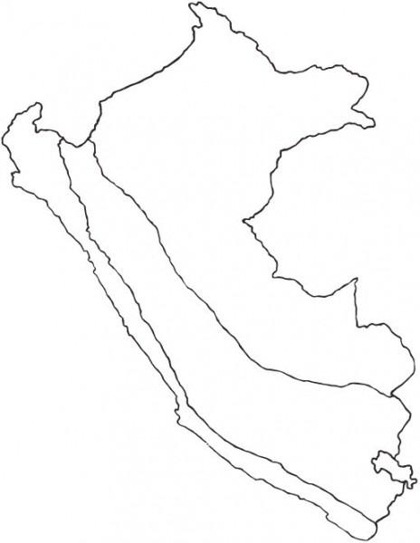 Mapa Del Perú  Político, Regiones, Departamentos, Relieve, Para