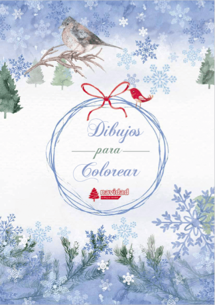 Catálogos De Dibujos De Navidad Para Colorear E Imprimir