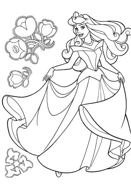 Dibujos Para Colorear E Imprimir De Princesas