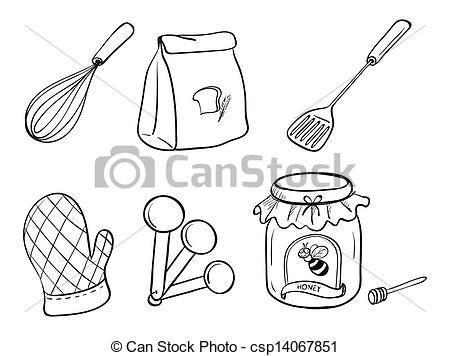 Colorear Utensilios De Cocina