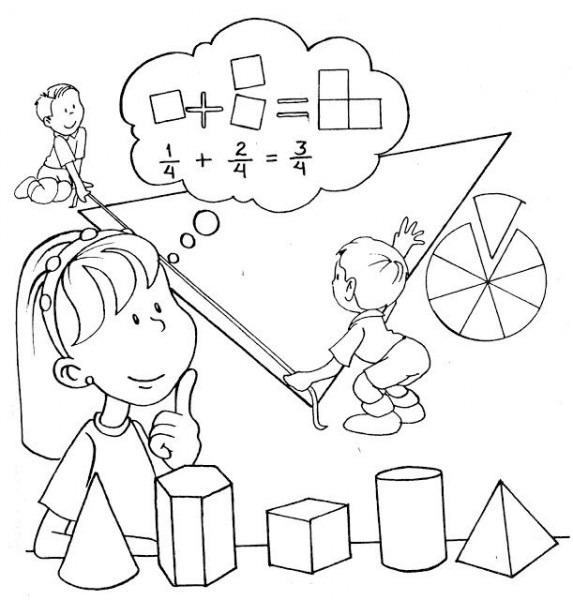 Dibujos De Matematicas Para Colorear E Imprimir