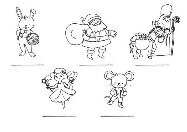 Amigos De Los Niños  Dibujo Para Colorear E Imprimir