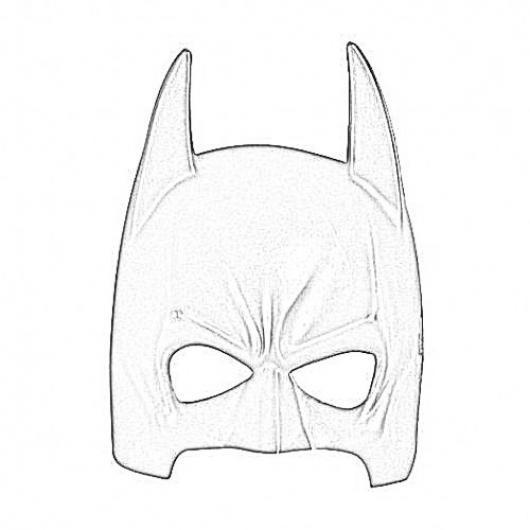 100 Mascara De Batman Para Colorear Paginas Para Imprimir Y