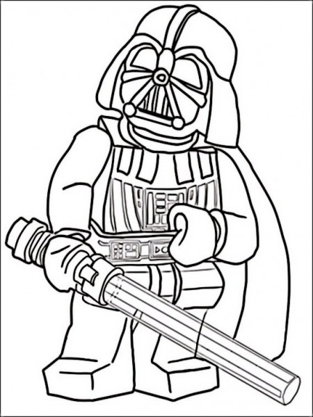 Dibujos Para Pintar Para Niños Lego Star Wars 12