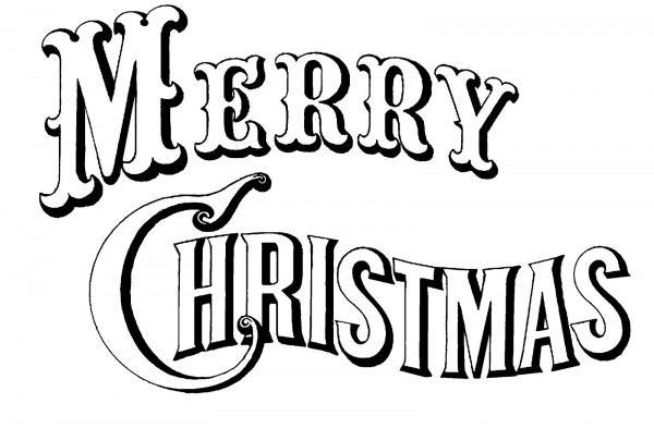"""Imágenes Para Colorear De """"merry Christmas"""""""