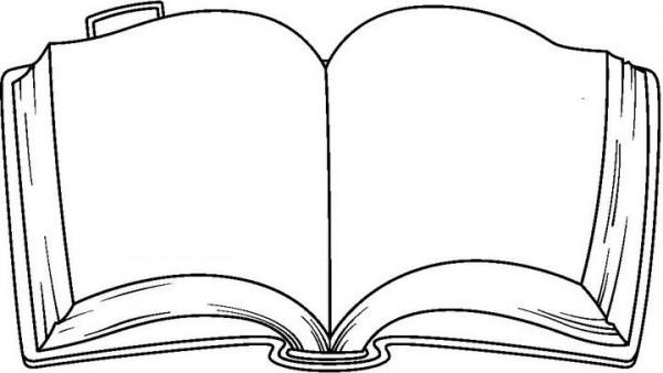 Pix For   Libro Abierto Dibujo