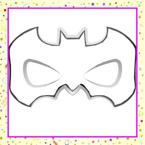 Dibujo De Un Antifaz De Batman Para Colorear