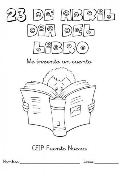 Día Del Libro, Dibujos Para Colorear Del 23 De Abril