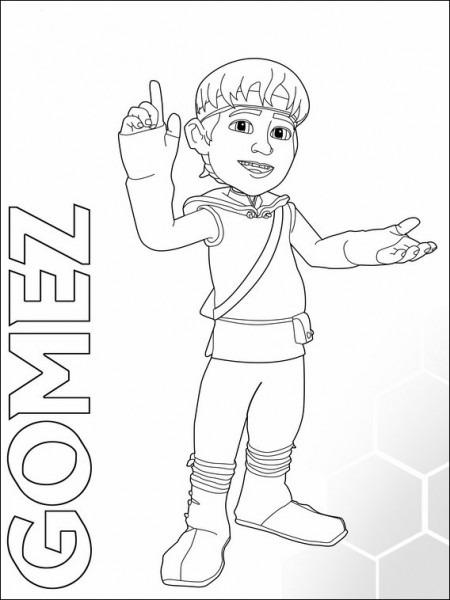 Dibujos Para Colorear Para Niños Matt Hatter 1