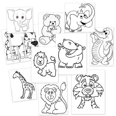 60 Imágenes De Animales Para Colorear Dibujos