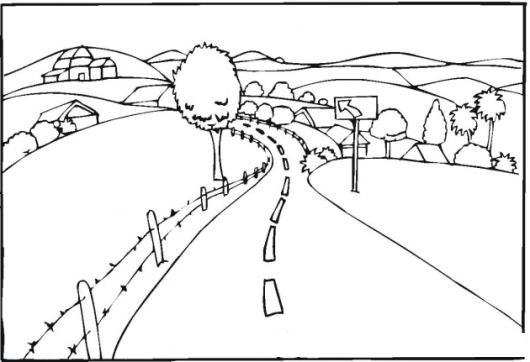 √ Dibujos Para Colorear De La Carretera