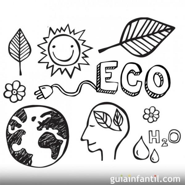 Dibujos Para Colorear Sobre El Medio Ambiente