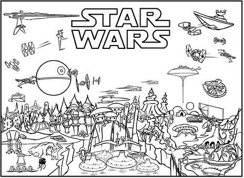 √ Dibujos De Star Wars Para Colorear E Imprimir