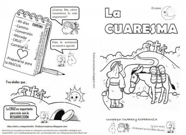 La Catequesis  Explicación Sencilla Para Niños De La Cuaresma Con