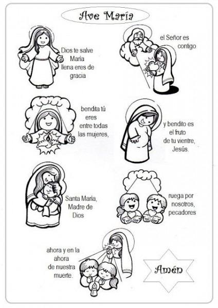 El Rincón De Las Melli  Virgen Maria