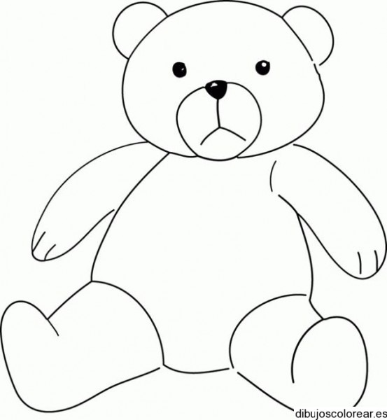 Dibujo De Teddy Bear