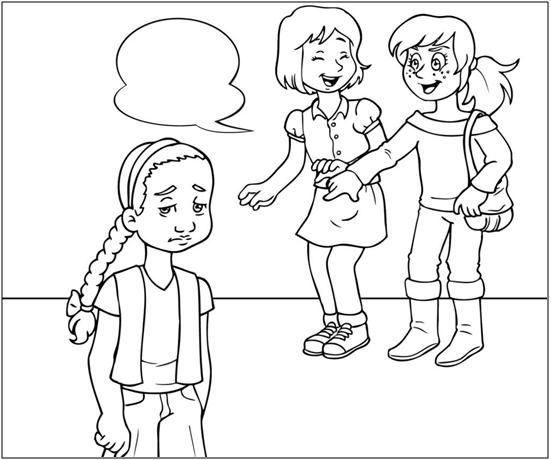 Dibujos Para Colorear Sobre El Bullying