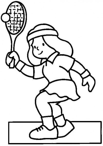 Dibujos Para Colorear Deportes 19