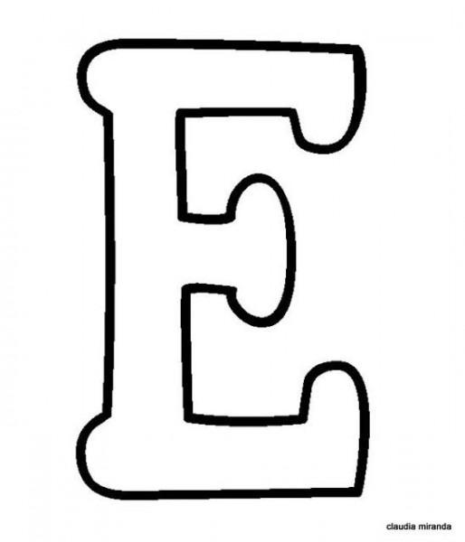 Letra EÂ¡