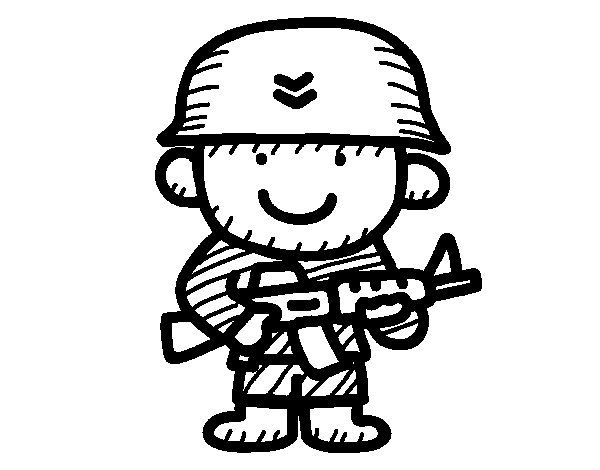 Resultado De Imagen Para Imagenes De Soldados Animados Para