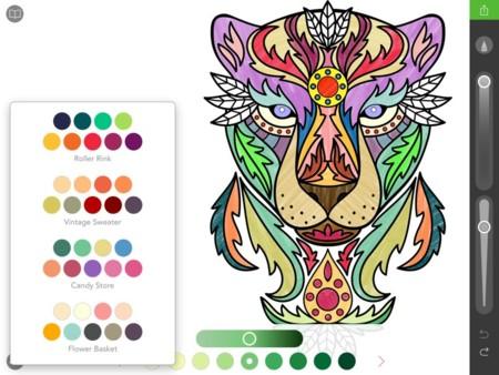 La Moda De Colorear Para Adultos Llega A Internet  12 Webs Y Apps