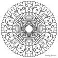 Material Para Colorear Mandalas