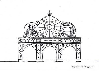 Dibujos Gratis Para Colorear De La Feria De Sevilla