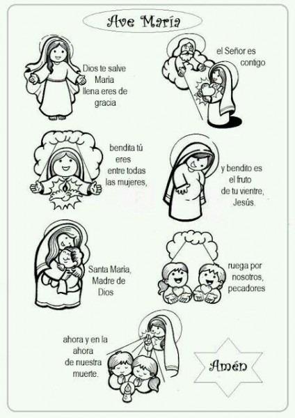La Oración De Ave Maria