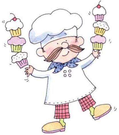 Dibujos De Niños Cocineros Para Colorear
